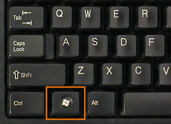 Windows start key